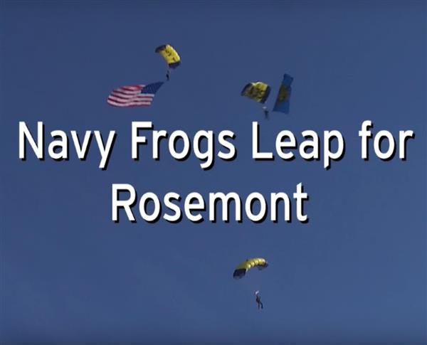 Navy Leap Frogs Jump for Rosemont!