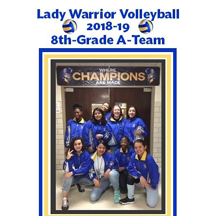 Shout out to our Lady Warrior Volleyball team for defeating McClung on Friday night to make it to the second round of the Sil