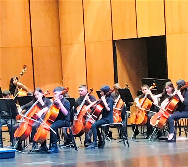 Orchestra takes all 1's in UIL competition