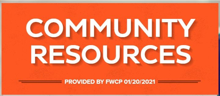 Community Resources Jan. 20th