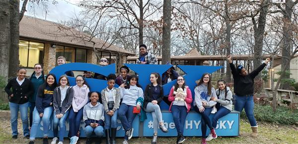 WMS Student Council and NJHS Members Attend Retreat at Sky Ranch