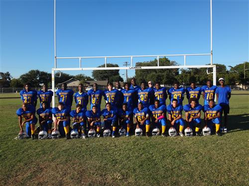 Congrats 8th grade football team for a great season. Earning a spot in the City Championship Game.