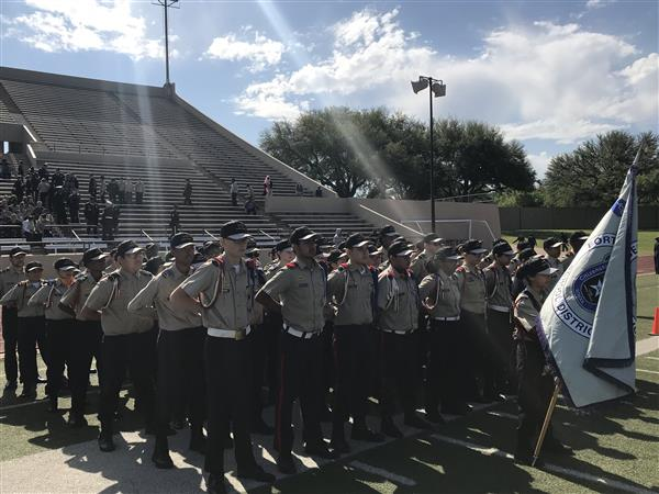 Wedgwood Middle School JCC Cadets Participate in Annual Ceremony