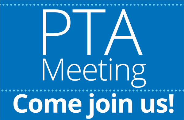 PTA Meeting Scheduled for September 27