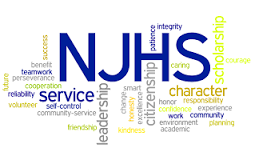 National Junior Honor Society Induction Ceremony January 17