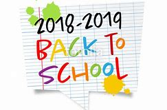 2018-2019 Back to School Information