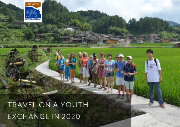Travel on a Youth Exchange 2020