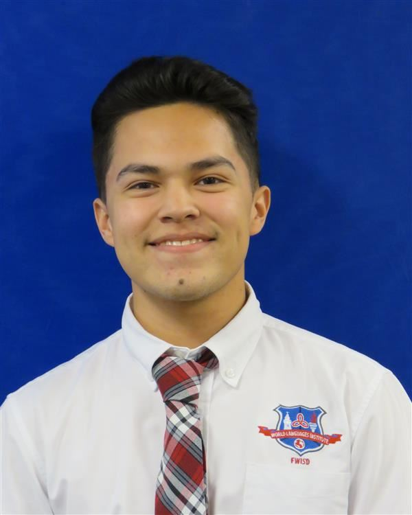 Jesus Paredes recognized as a National Hispanic Recognition Program Scholar