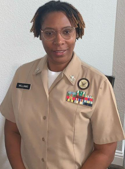 Petty Officer Erica Blackwell