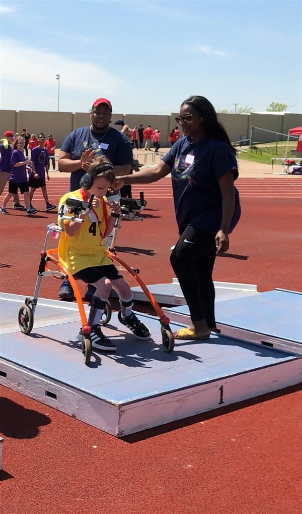 Special Olympic 1st place Winner Logan McCartney!! Go Logan Go!