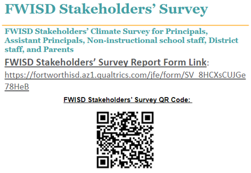Important Parent and Staff Survey!