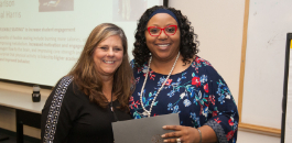 Principal Harris and Alice Carlson Elementary Honored for Spectacular Student Engagement