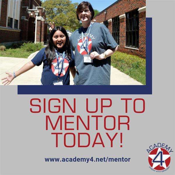 Sign Up! Be a Mentor!