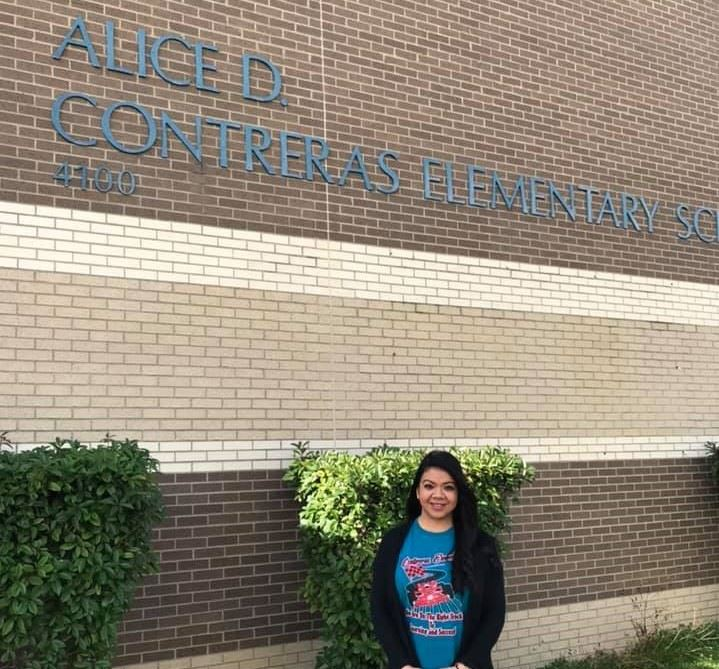 Elizabeth Rodriguez: Teacher of the Year for Alice D. Contreras!