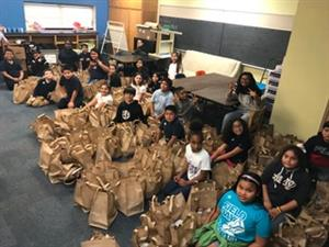 Daggett Elementary Helps Over 600 Families!