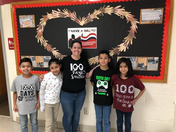 Check out Daggett's 100th day!