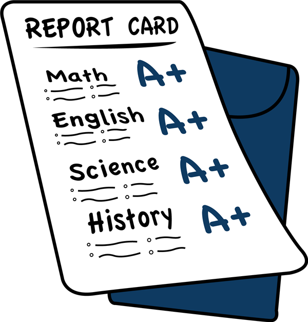 YOUR CHILD'S REPORT CARDS WILL BE ONLINE STARTING THIS YEAR.