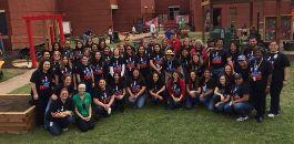 "Diamond Hill Elementary Creates School Learning Garden on ""Big Dig Day"""