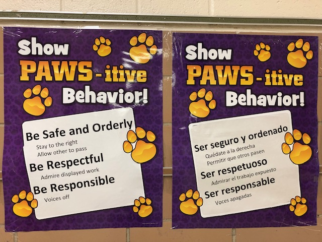 PAWS-itive Behavior!
