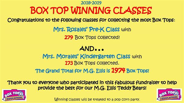 Popcorn parties for Box Top donations