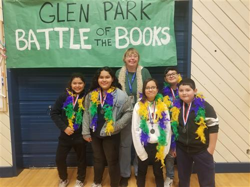 Glen Park Battle of the Books Champions Announced!
