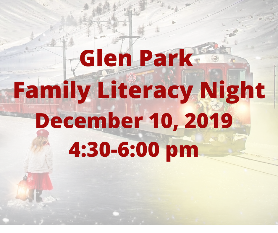 Glen Park Family Literacy Night