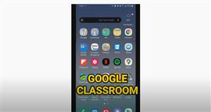 Accessing Google Classroom Mobile