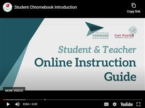 Student Chromebook Instruction