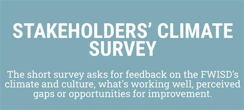 Stakeholders Climate Survey