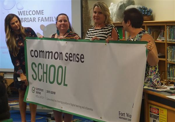 Greenbriar Becomes a Common Sense Certified Campus!