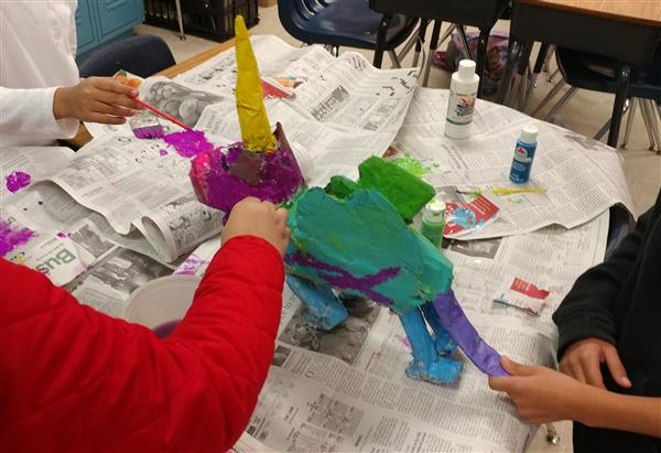 Vanessa Hernandez's FWAS Arts and Crafts Club