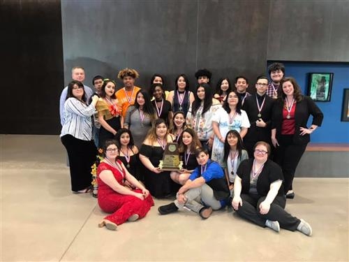 Carter Theatre Department Advances at UIL competition!
