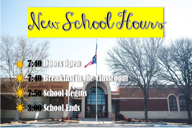 New School Hours!