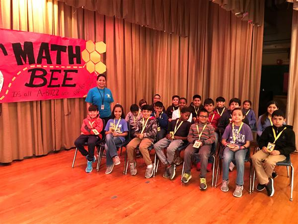 1st Annual Math Bee