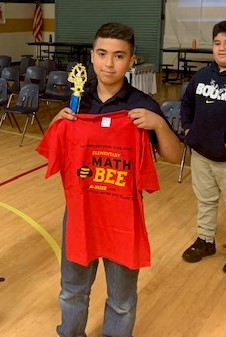 First Annual Math Bee