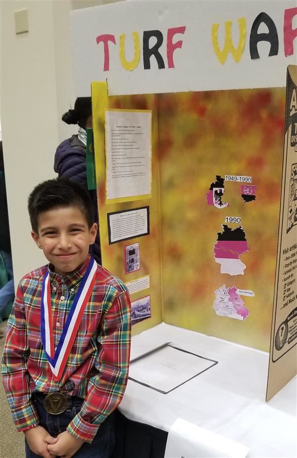 History Fair Individual Project Winner!