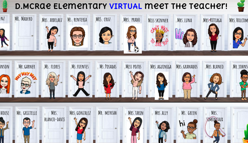 Virtual Meet the Teacher!!!