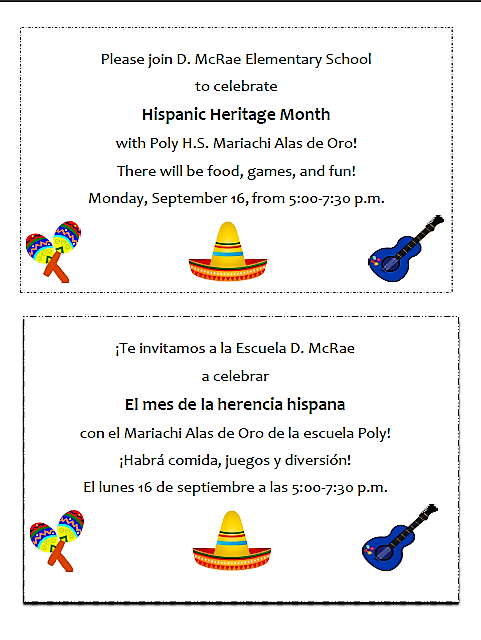 Hispanic Heritage Month Celebration