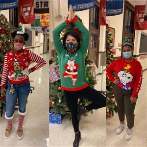 Ugly Sweater Day/Día del suéter feo