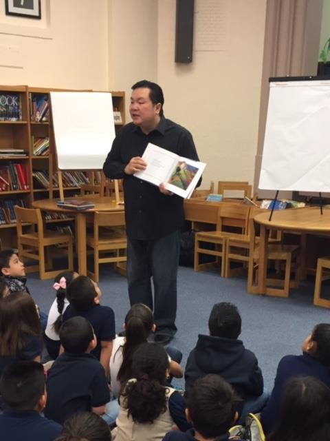 Author Vuthy Kuon pays a visit to 2nd Grade!