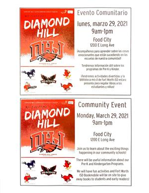 Diamond Hill Community Event