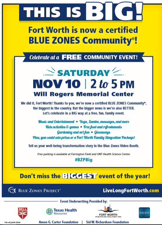 Blue Zones Community Celebration