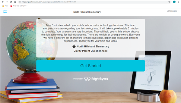 Bright Bytes Parent Survey