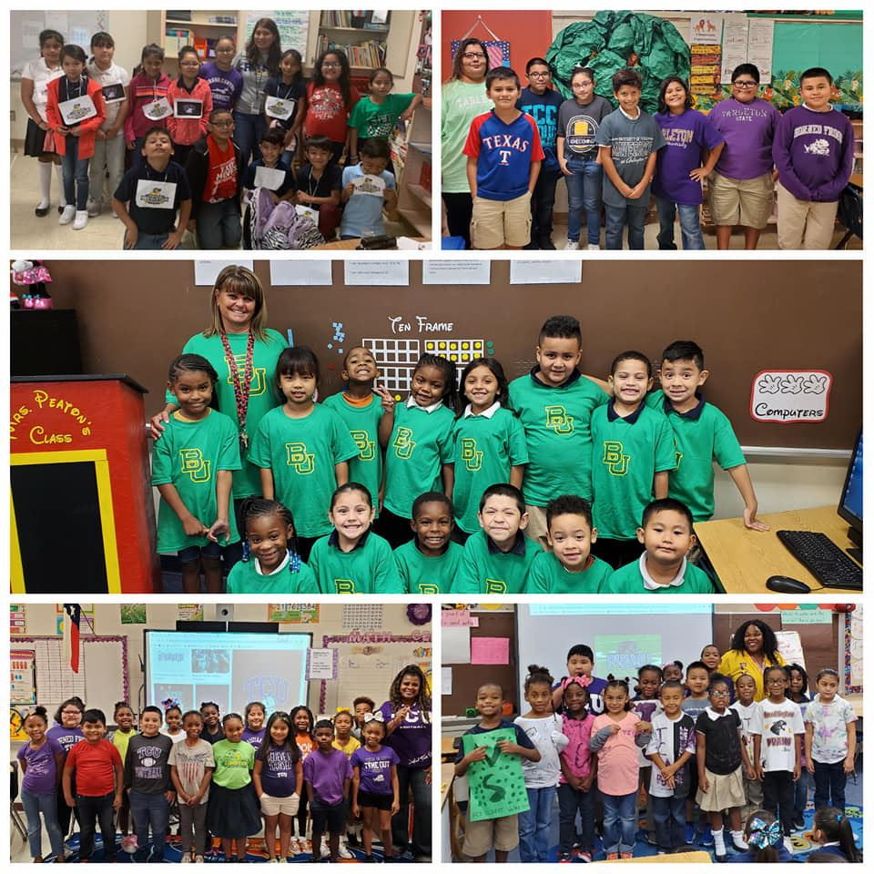Students and Teachers Participated in National College Colors Day