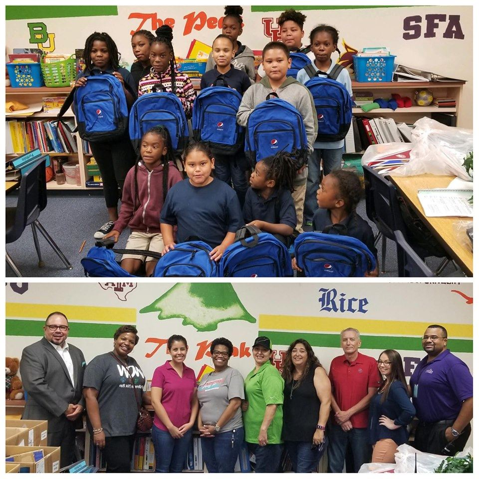 PepsiCo Donates School Supplies to Carroll Peak Students for Over a Decade